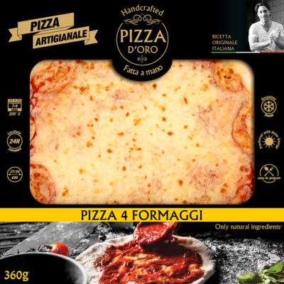 Pizza d'oro 4 sajtos 10 x 360g