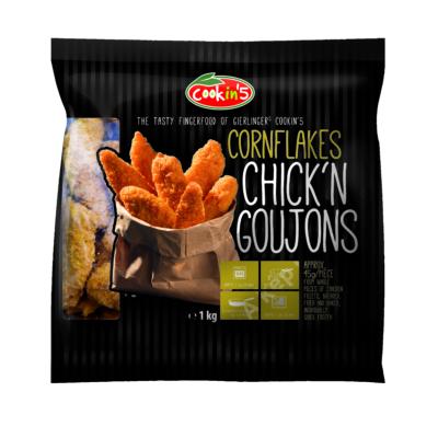 C5 Panírozott Prémium Csirke Nuggets cornflakes 1 kg