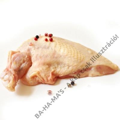 Csirkemell filé supreme bőrös kb 1kg - 3 db/csomag