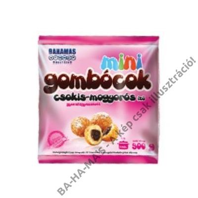 BAHAMAS csokis-mogyorós ízű minigombóc 500g