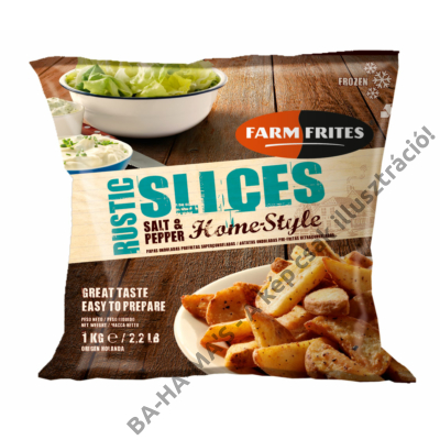 FarmFrites home style sós-borsos burgonya szelet 1 kg