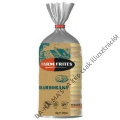 FarmFrites fokhagymás burgonyalángos 1 kg