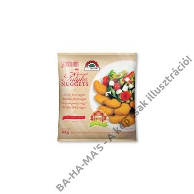 Gallicoop pulyka nuggets 1 kg