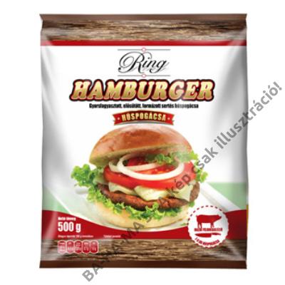 RING hamburgerpogácsa 500g