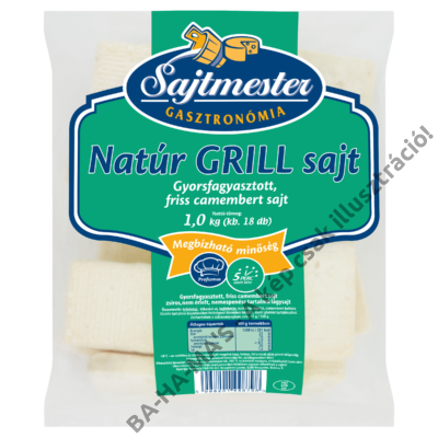 Sajtmester Natúr Grill sajt 1kg