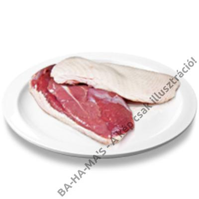 Kacsamell filé pecsenye bőrös kb. 500g (2 db/csomag)
