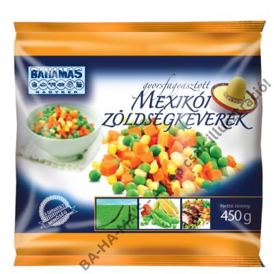 BAHAMAS mexikói zöldségkeverék 450g