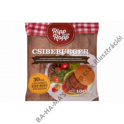 Ripp-Ropp csibeburger 1 kg