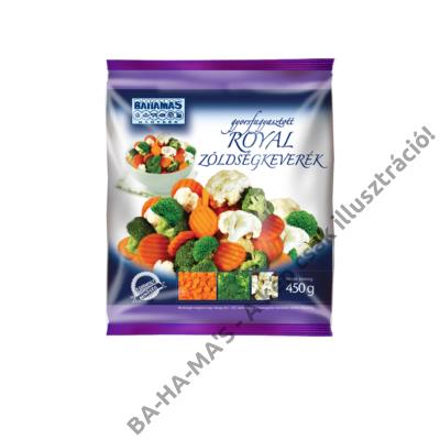 BAHAMAS royal zöldségkeverék 450g