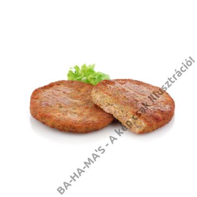 Sertéshúsos hamburger (készresütött) 125mm/8X65g